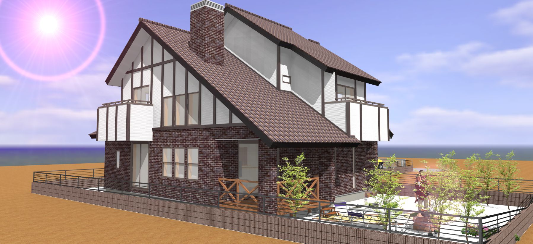 チューダー様式住宅