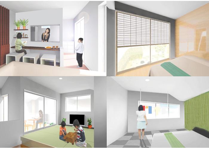 工業化住宅の新しい生活モデル