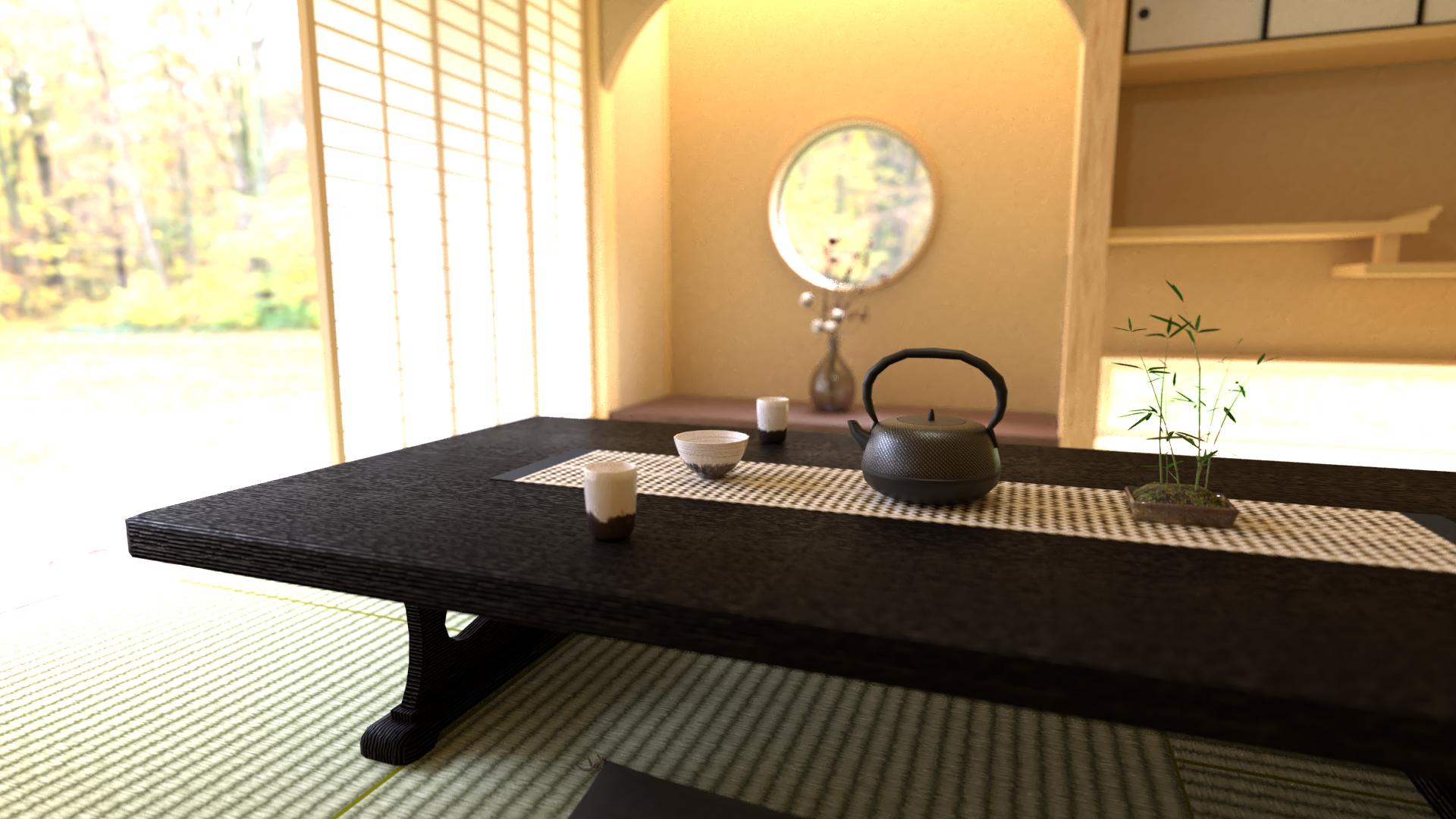 穏やかな和室