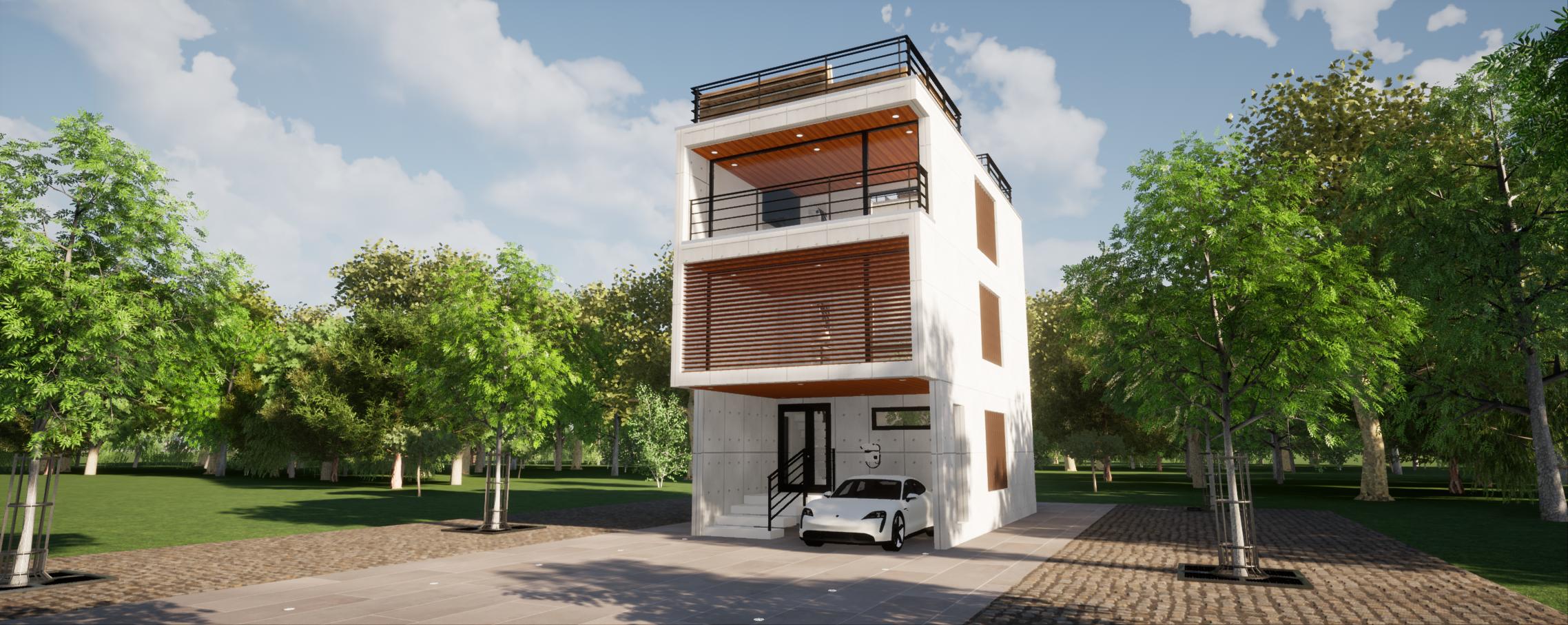 デザインRC住宅
